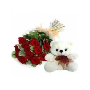 Flower with Teddy